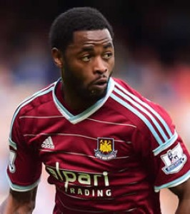 Alex Song has ice pack after West Ham draw with Manchester United