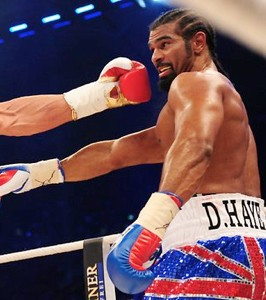 Hampered by the pain? My foot! Former Liverpool physio Leather on Haye's toe